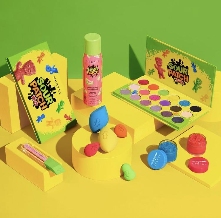 Morphe x Sour Patch Kids Collaboration Reveal!