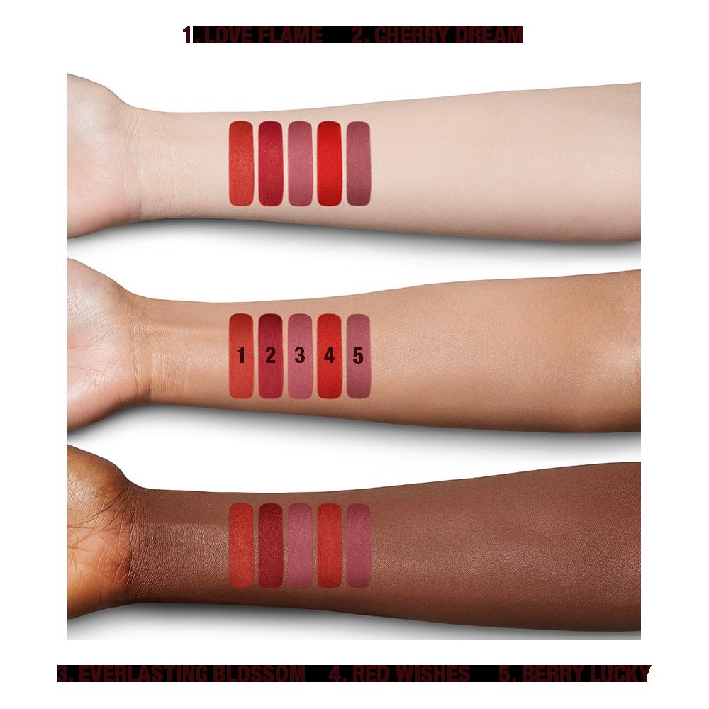 Charlotte Tilbury Limitless Lucky Lips Lipsticks Collection