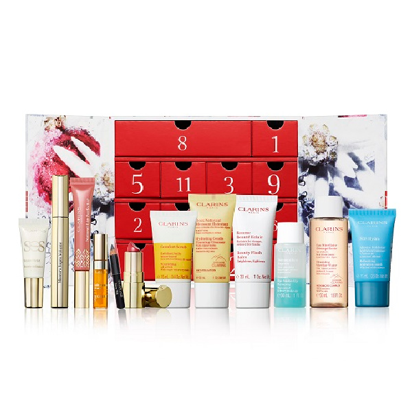 Clarins Beauty Advent Calendar 2021 Contents Reveal!