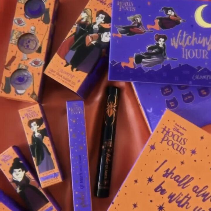 ColourPop x Disney Hocus Pocus Halloween 2021 Collection Reveal!