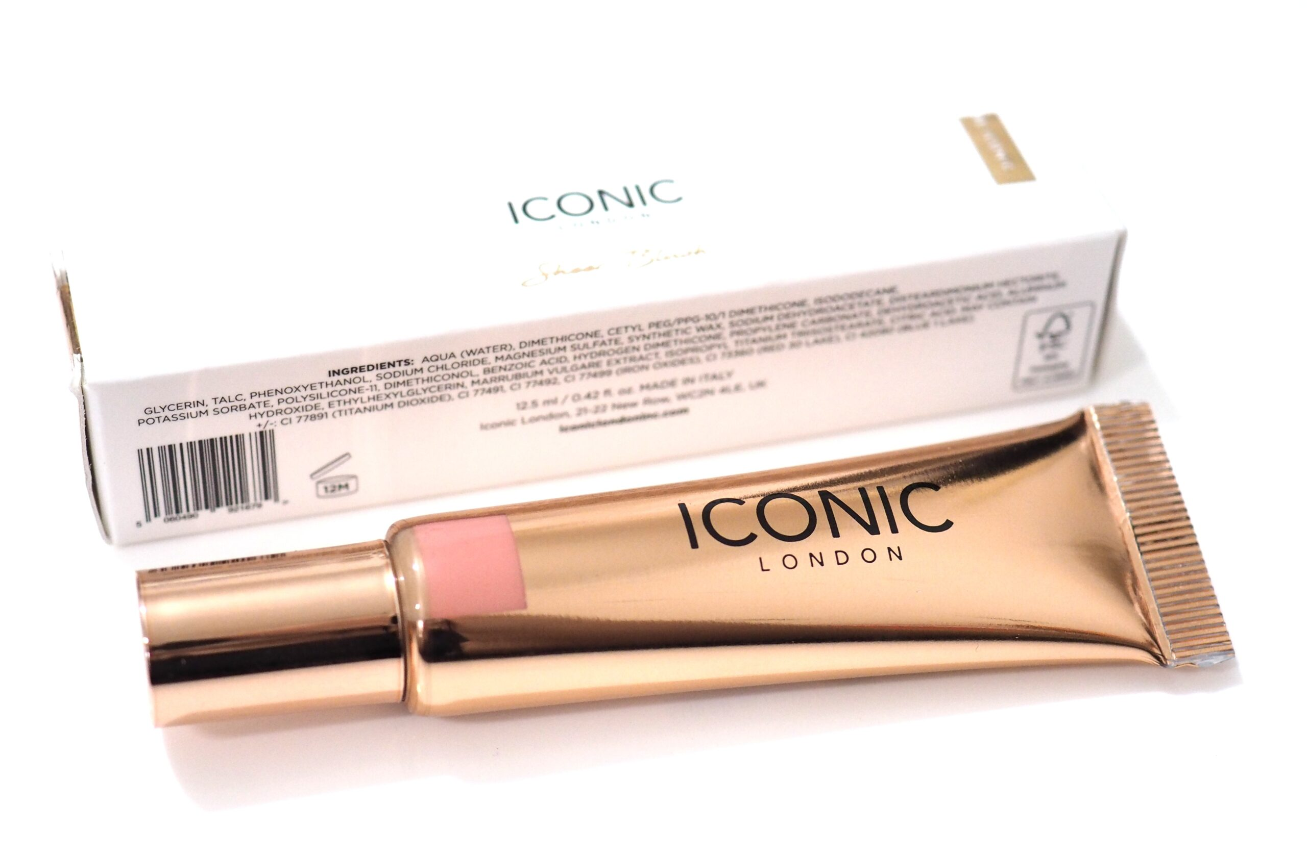 Iconic London Sheer Blush Review / Swatches