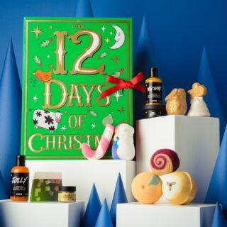 Lush 12 Days of Christmas Advent Calendar 2021 Contents Reveal!