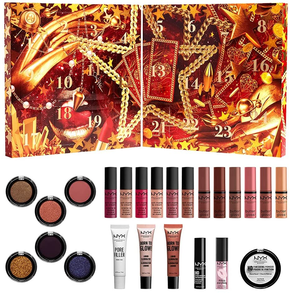 NYX Gimme Super Stars 24 Day Holiday Countdown 2021