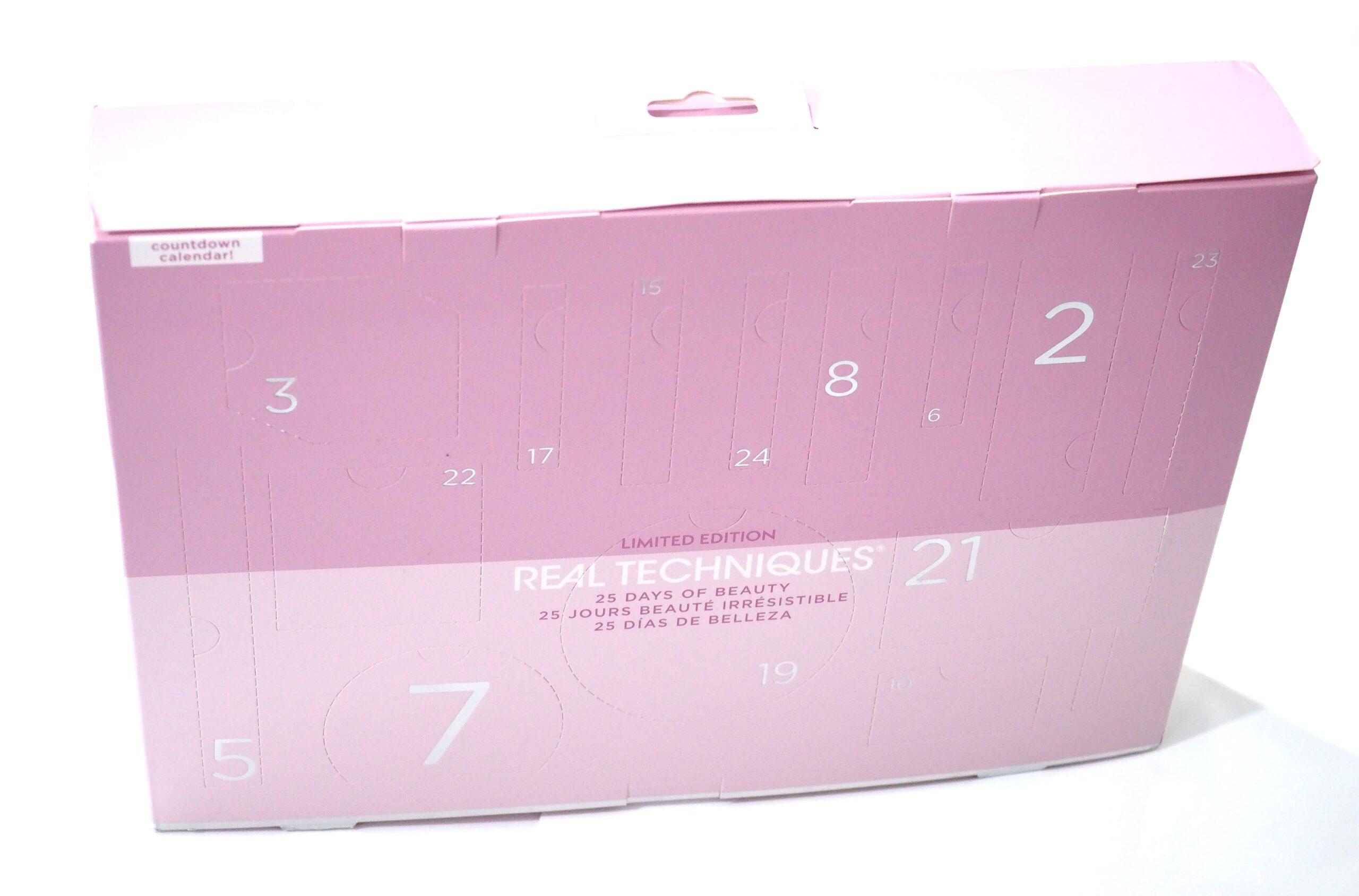 Real Techniques Advent Calendar 2021 Unboxing + Review