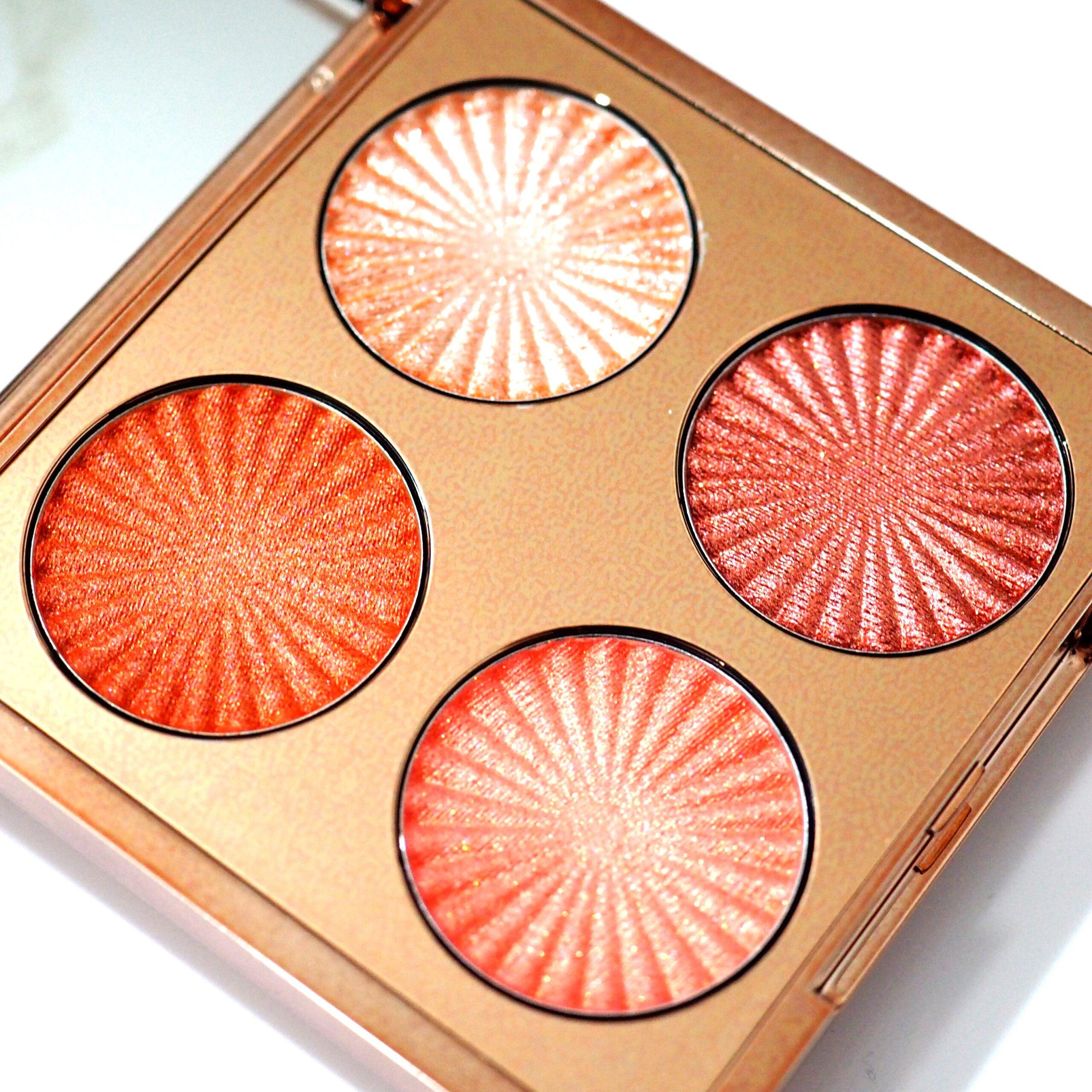 Revolution Pro Goddess Glow Eye Quads Review / Swatches