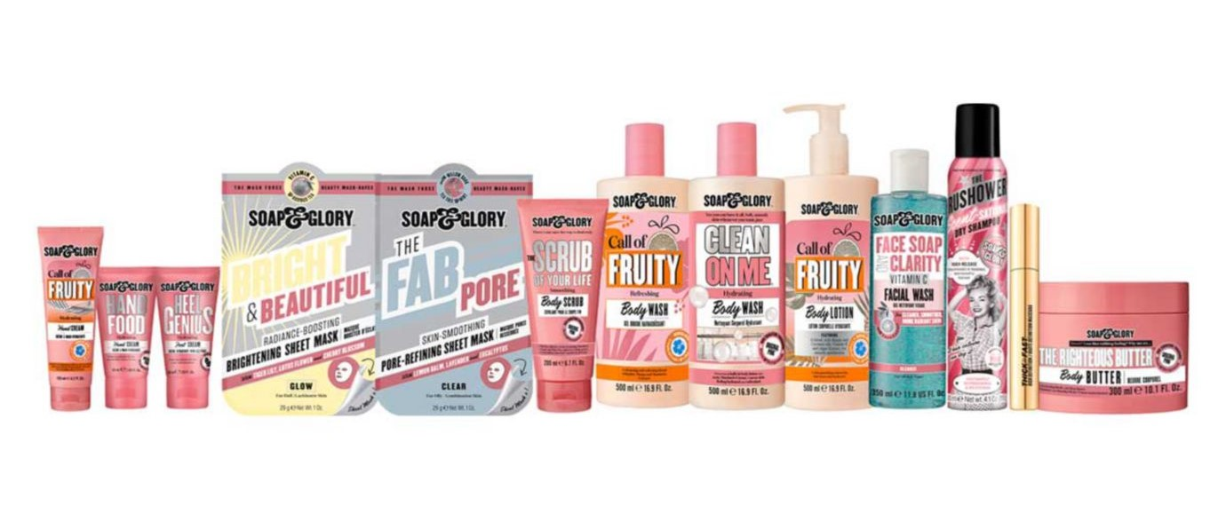 Soap & Glory In For A Treat Collection Mega Gift Set