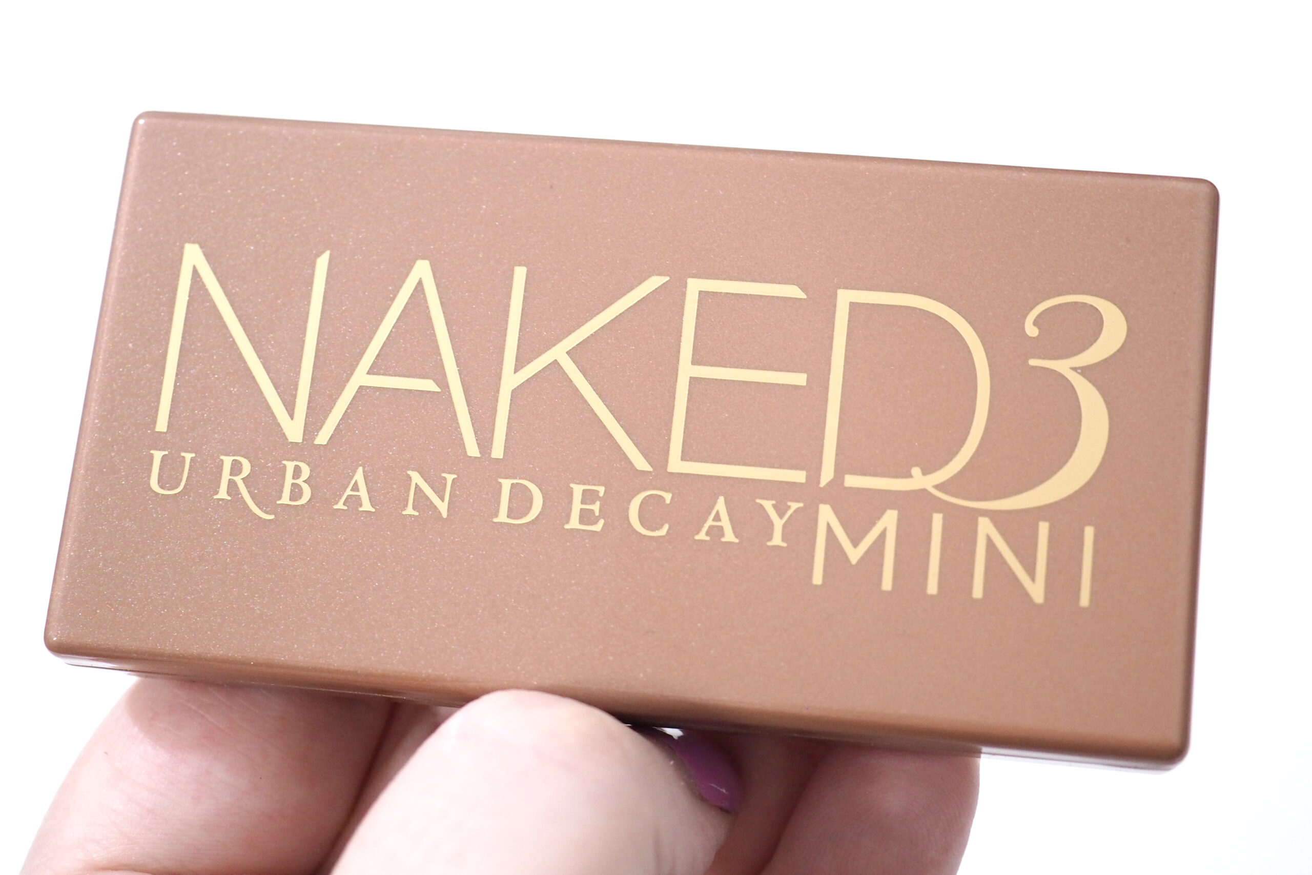 Urban Decay Naked 3 Mini Eyeshadow Palette Review / Swatches