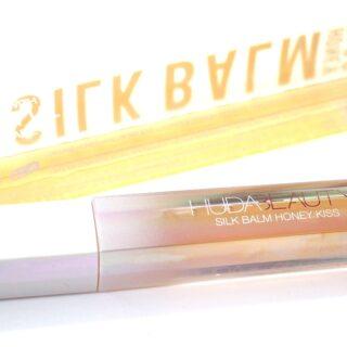 Wishful x Huda Beauty Silk Balm Honey Kiss Plumping Lip Balm Review