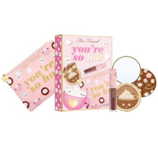 Too Faced You're So Hot Bronzer and Lip Gloss Set