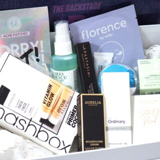 Beauty Bay The Backstage Beauty Box Unboxing