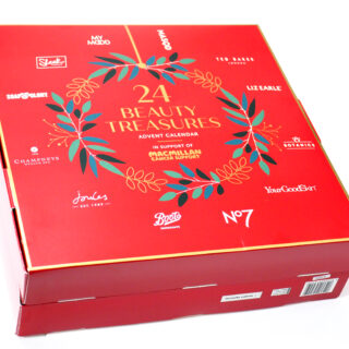 Boots Macmillan 24 Beauty Treasures Advent Calendar 2021 Unboxing and Review