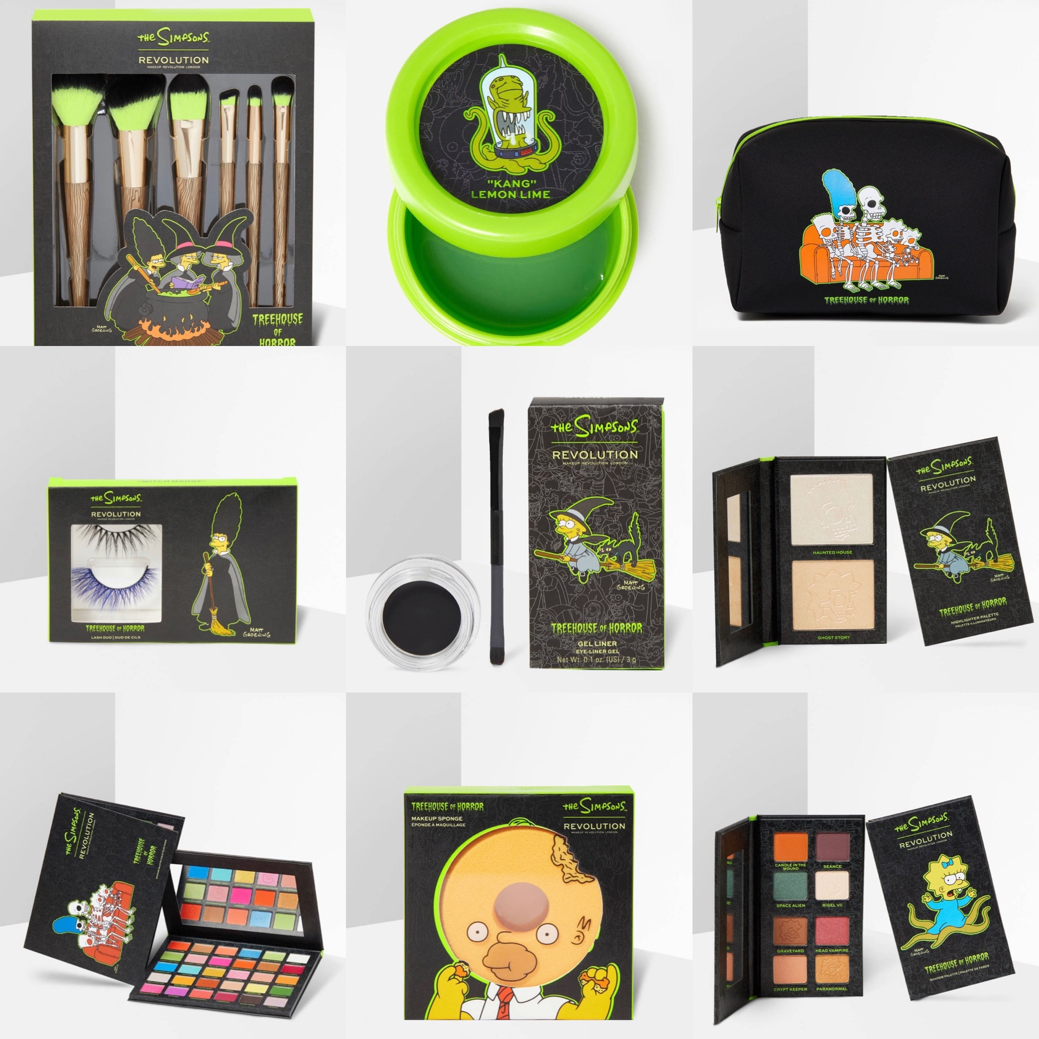 Revolution x The Simpsons Halloween Collection Reveal!