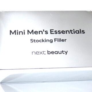 Next Beauty Mini Men's Essentials Stocking Filler Box Unboxing + Reveal!
