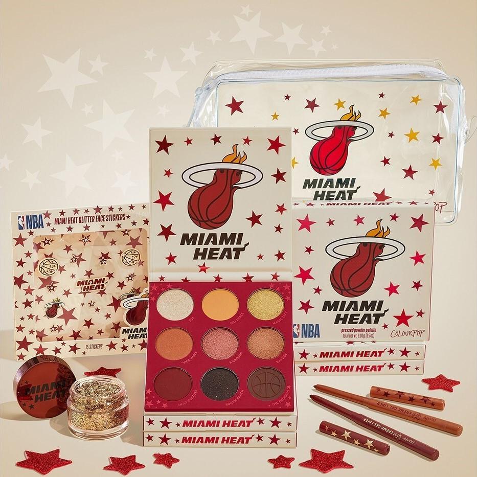 ColourPop x NBA Makeup Collection