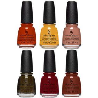 China Glaze Autumn Spice 2021 Nail Polish Collection
